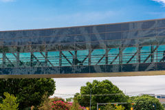 19. August 2015 - Dallas, Texas, USA Der neue Zusatz zu Parkl Stockbild