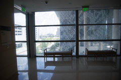 18. August 2015 - Dallas, Texas, USA Innenraum des neuen addit Lizenzfreie Stockfotografie