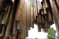 august helsinki monumentsibelius för 2007 Arkivfoton