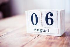August 6., am 6. August - Hiroshima-Tag lizenzfreie stockfotos