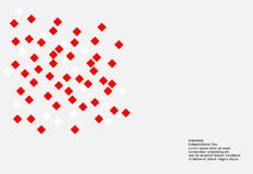 17 August Indonesia Independence Day-achtergrond Vlaggen vectorillustratie royalty-vrije illustratie