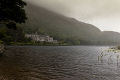 Kylemore Abbey,Ireland. August 6, Ireland, The Kylemore Abbey Royalty Free Stock Image