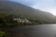 Kylemore Abbey,Ireland. August 6, Ireland, The Kylemore Abbey Royalty Free Stock Images