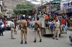 Leh (India, Ladakh) - Hindu celebration on the streets Royalty Free Stock Image
