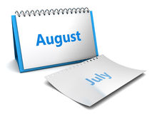 August month Royalty Free Stock Image