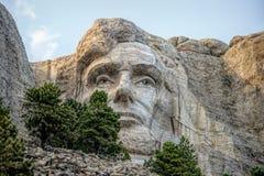 Mount Rushmore. August 27, 2017: Mount Rushmore National Monument in South Dakota stock image