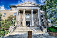 August 2015 old city of york south carolina couthouse Royalty Free Stock Photo