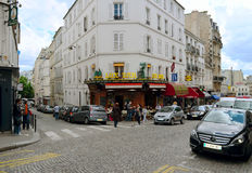 11. August 2011 paris frankreich Lux Bar 12 Rue Lepic, 75018 Pari Stockbild
