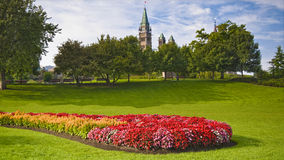 August Peace Tower Stock Photography
