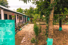 August 25, 2014 - Rural town of Sauraha, Nepal Royalty Free Stock Image