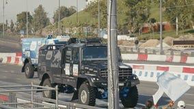 30 august 2016 Russia, Kazan - auto show Kazan City Racing, Day of City - the performance of racing trucks stock video footage