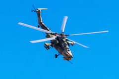August 6, 2016. Ryazan, Russia. The helicopters of the Military Royalty Free Stock Photography