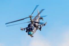 6. August 2016 Ryazan, Russland Die Hubschrauber des Militärs Lizenzfreies Stockfoto