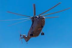 6. August 2016 Ryazan, Russland Die Hubschrauber des Militärs Lizenzfreie Stockbilder