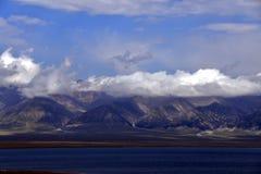 Bortala, Xinjiang: enjoy the cool world of the Salem Lake stock photos