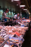 August 4th, 2017, Cork, Ireland - fish store at the English Market, a municipal food market in the centre of Cork Stock Photos