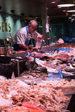 August 4th, 2017, Cork, Ireland - fish store at the English Market, a municipal food market in the centre of Cork Royalty Free Stock Images