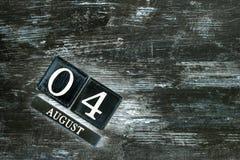 August 4th Stock Photos