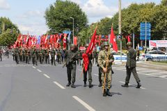 30 August Turkish Victory Day Royalty-vrije Stock Afbeeldingen
