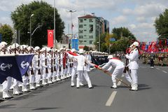 30 August Turkish Victory Day Royalty-vrije Stock Fotografie