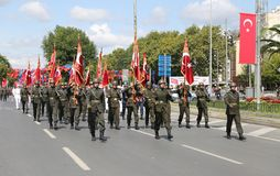 30 August Turkish Victory Day Photographie stock
