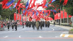 30 August Turkish Victory Day Fotografie Stock
