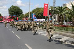30 August Turkish Victory Day Fotos de archivo