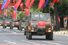 30 August Turkish Victory Day Photo stock