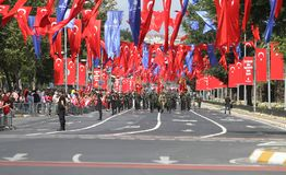 30 August Turkish Victory Day Stock Afbeelding