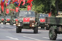 30 August Turkish Victory Day Fotografia Stock