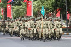 30 August Turkish Victory Day Photographie stock libre de droits