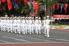 30 August Turkish Victory Day Royalty-vrije Stock Foto's