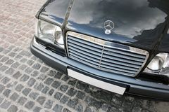 August 7, 2012, Ukraine, Kiev. Mercedes-Benz W124 E500 Wolf. royalty free stock photography