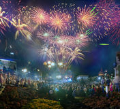 24. August Unabhängigkeitstag Stockfotografie