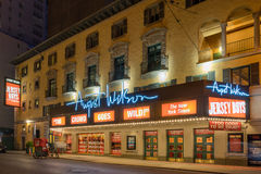 August Wilson Theatre Royalty Free Stock Photos