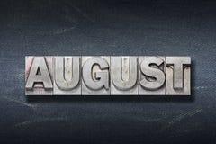 August-Worthöhle Stockfotos