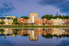 Augusta, река Мейна Стоковое Изображение RF