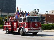 Augusta Gay Pride Parade Arkivbilder
