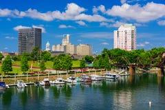 Augusta Georgia городское Стоковое Изображение RF