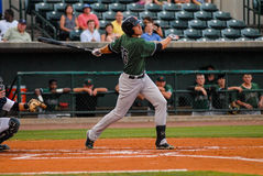 Augusta GreenJackets, OF Andrew Cain Royalty Free Stock Images