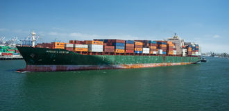 Augusta Kontor at The Port of Los Angeles Royalty Free Stock Photo