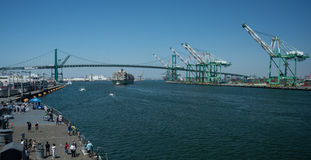 Augusta Kontor at The Port of Los Angeles Royalty Free Stock Photography