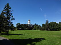 Augusta, Maine Capitol 2. View of the Capitol building from Capitol Park in Augusta, Maine Royalty Free Stock Image