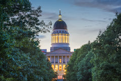 Augusta, Maine, USA. The Maine State House in Augusta, Maine, USA Stock Photos