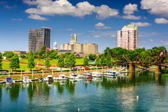 Augusta Skyline Images stock