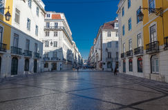 Augusta street in the morning. Stock Image