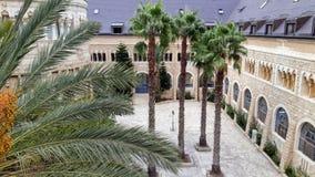 Augusta Victoria hospital Jerusalem royalty free stock images