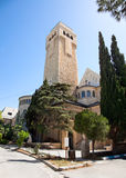 Augusta Victoria tower, Jerusalem, Israel Royalty Free Stock Images