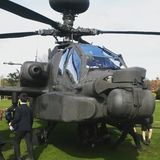 Augusta-Westland AH-64 Apache Longbow royalty free stock image