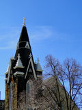Augustana瑞典路德教会的教堂 库存照片